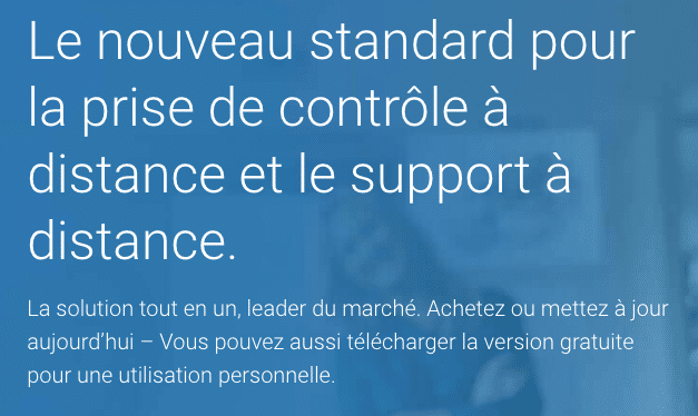 Team Viewer intervention en ligne